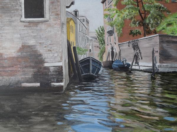 View from a gondola by Lynne Harris