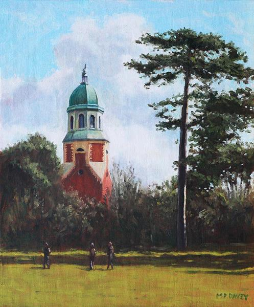 Netley Hospital Chapel At Weston Shore by Martin  Davey