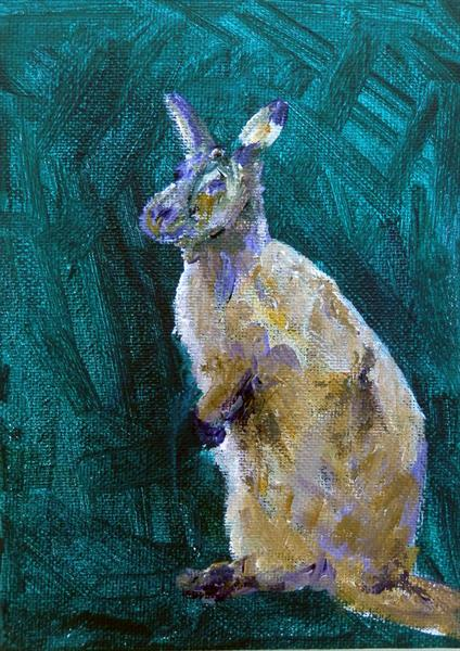 Wallaby by Caroline Skinner