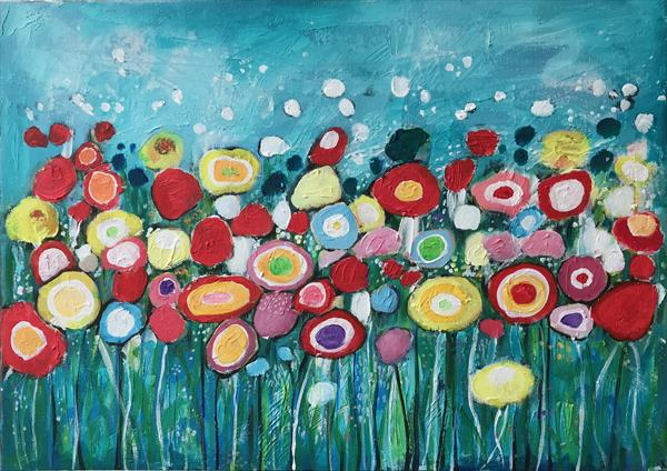The Summer Flowers by Eileen Kiely