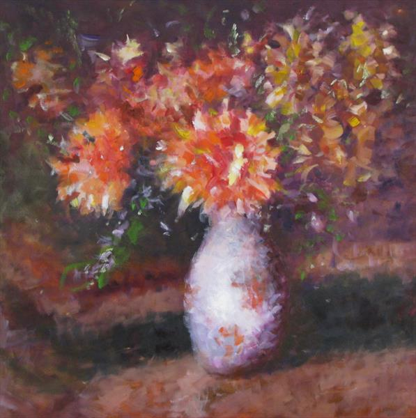 Flowers In A Vase by Nikki Rosetti