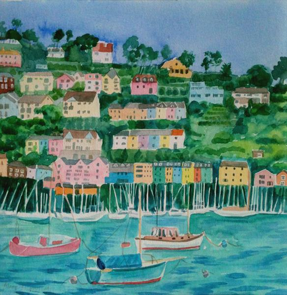 Dartmouth Harbour by Mary Stubberfield