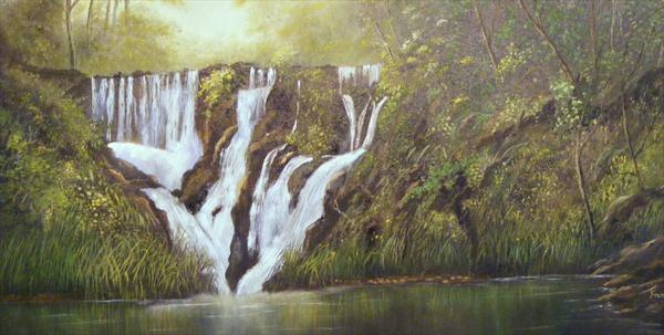 Waterfall of Joy by Frances Brice