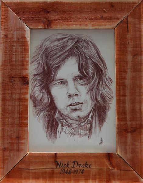 Nick Drake by Bill Taylor-Beales