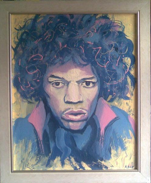 Jimi Hendrix (Voodoo) by Colin Able