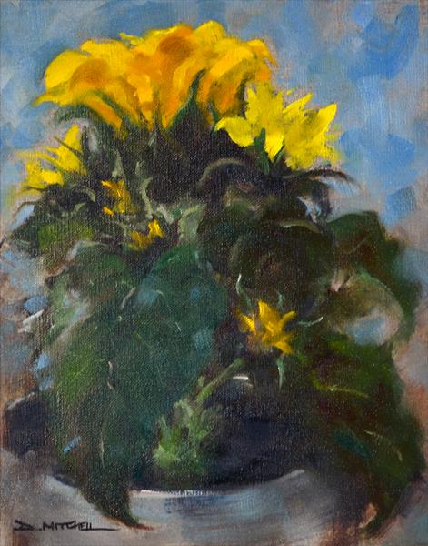 Sunflowers by Denise Mitchell