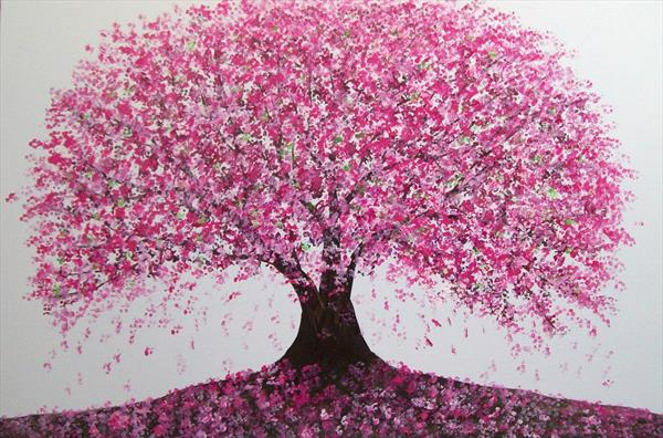 Spring Blossom Tree by Patricia Richards