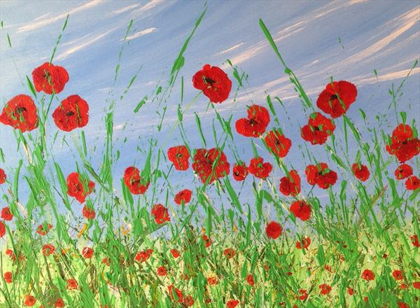 Summer Poppies by Tina Hiles