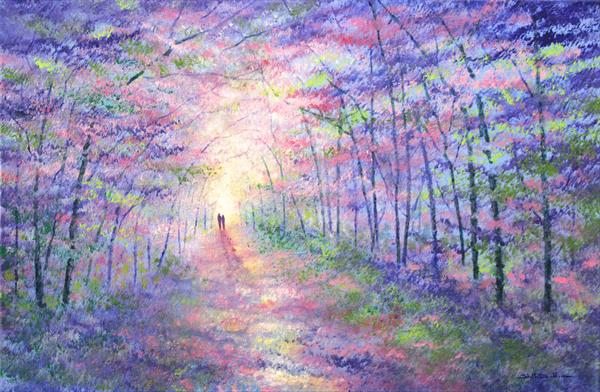 Forest Light Limited Edition Print