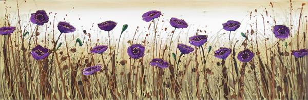 Purple Flower Dance (On display in Malvern Theatres)