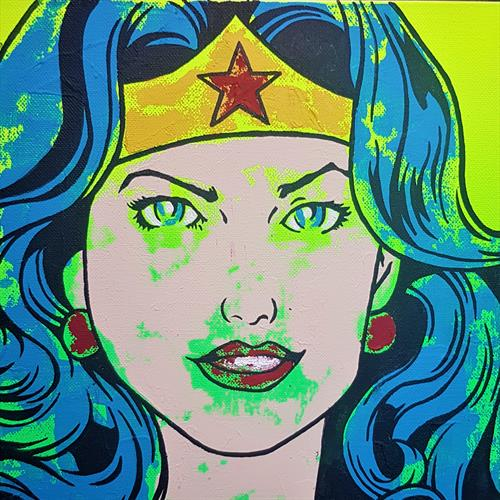 Wonder Woman by Gareth Cairns