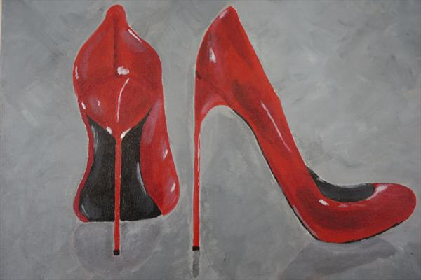 Red Stilettoes by Kirti Wadehra