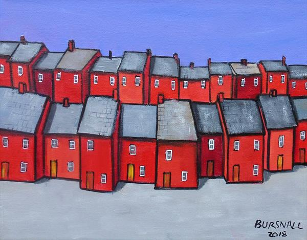 Red Terrace by Paul Bursnall