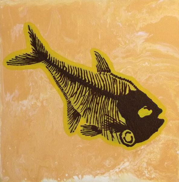 Fossil Fish by Paul Vaccari