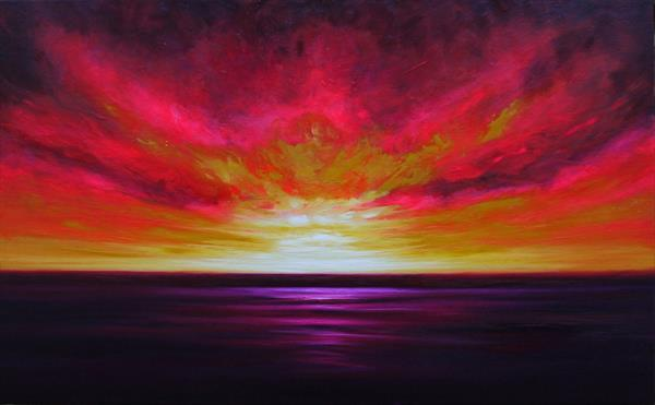 Twilight Sunburst by Julia Everett