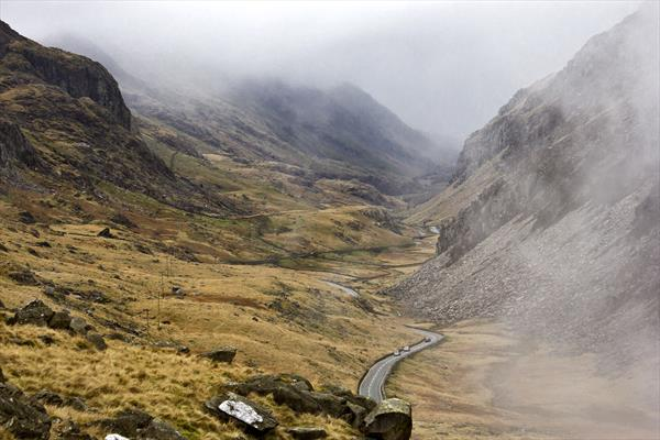 Snowdonia National Park Mountains 6x9'' photo print by Lija Baneviciute