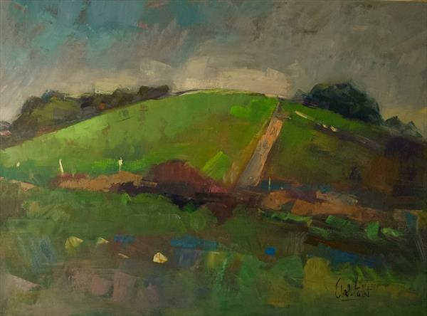 Hill at the Long Furlong by Andre Pallat
