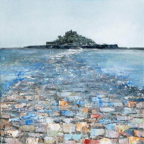 St Michael's Mount Causeway by Diane Griffiths