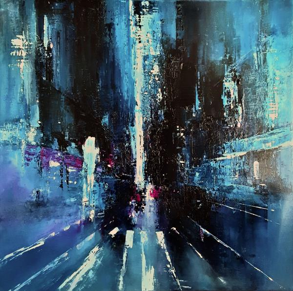 This city never sleeps by Olena Topliss
