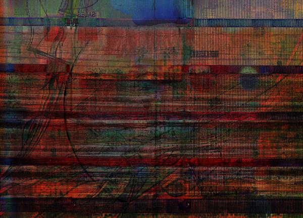 Industrial Abstract 9 by Andy Mercer
