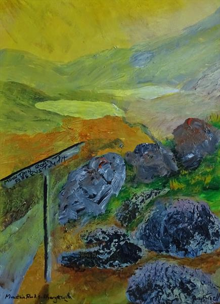 MOUNTAIN ROAD TO ABERYSTWYTH by Baz Farnell
