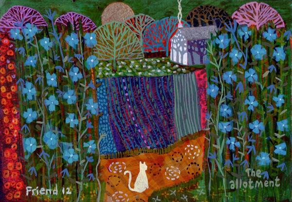 The Allotment by Richard Friend