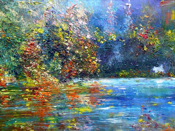 The mirror lake by Mary Ann Day