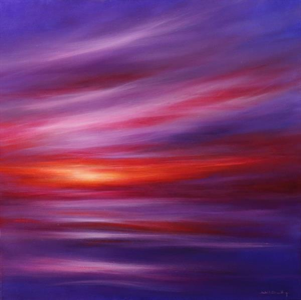 Sunset Embers III by Stella Dunkley