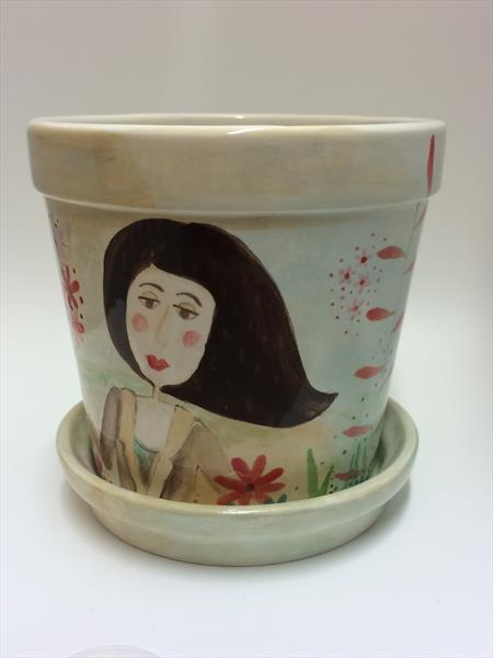 Molly the Plant Pot by Julie Anne