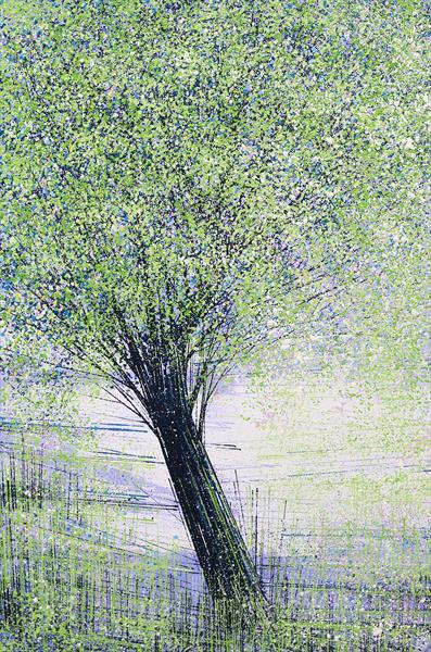 Trees In Bright Summer Colours by Marc Todd