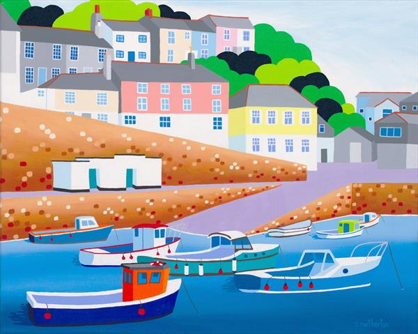 Mevagissey by Shirley Netherton