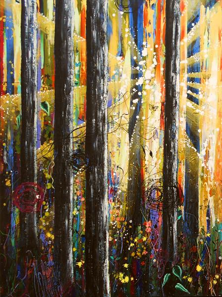 Ascension #1 Large Artwork by Angie Wright
