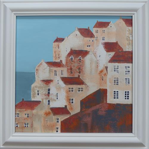Staithes, Yorkshire by Elaine Allender