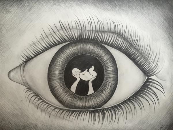 Maternal eye by Katy Louise Wainwright