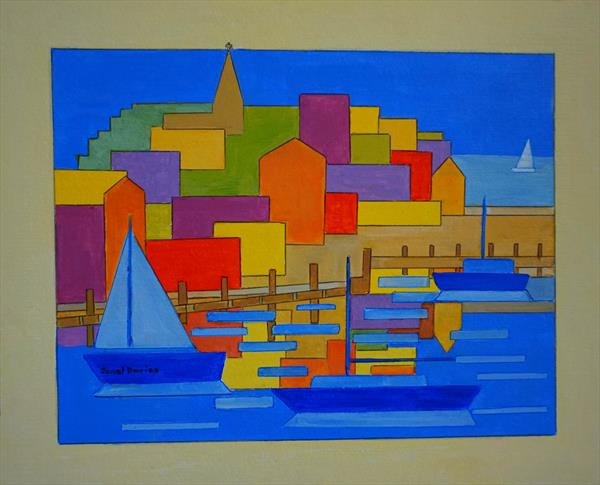 Orange Harbour by Janet Davies