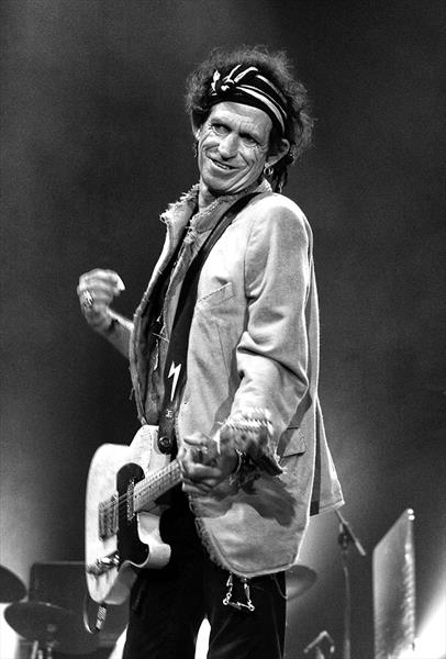 Keith Richards  by Peter Aitchison