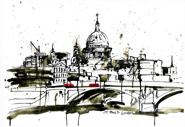 St Paul's London by Keith Mcbride