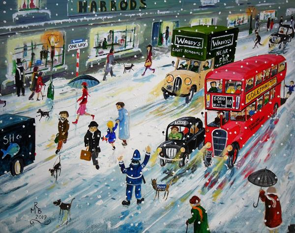 Snow Up Town by Rod Buckingham