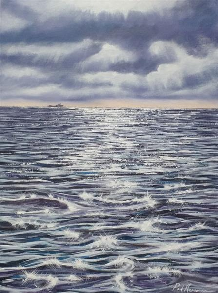 Calm Sea, Bright Sun by Paul Acraman