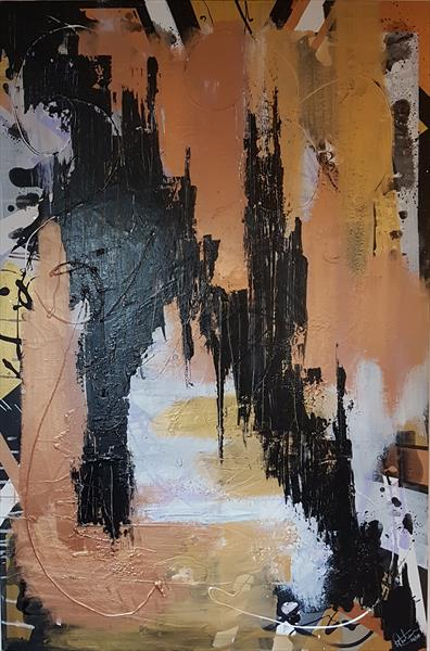 Abstract Cityscape by Rob Thornham