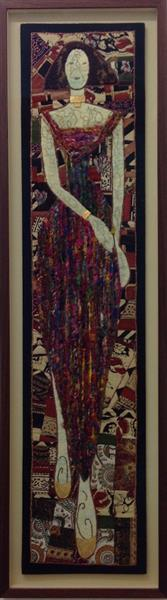Klimt Lady by Maria Rogers