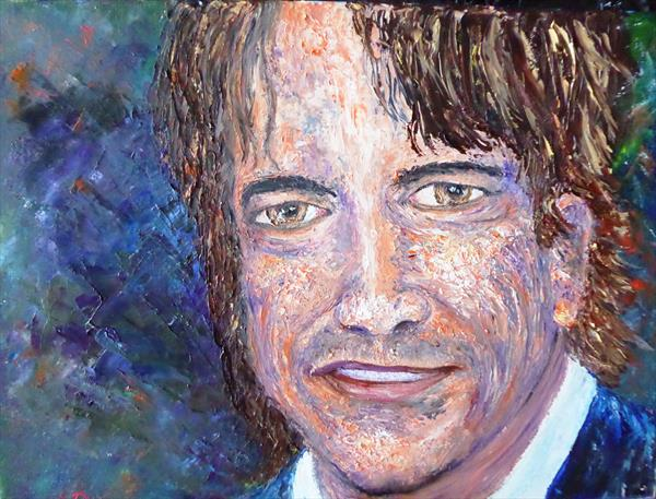 Actor  Dermot Mulroney by Mary Ann Day