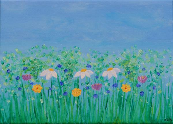 Spring meadow by Jacqueline Moore