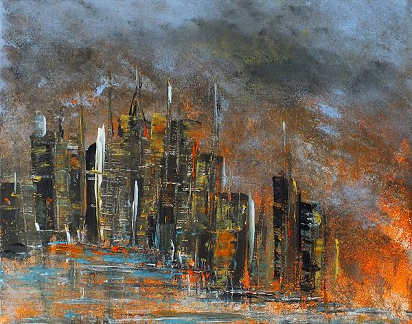 The Way the City Sleeps by Tracey Unwin
