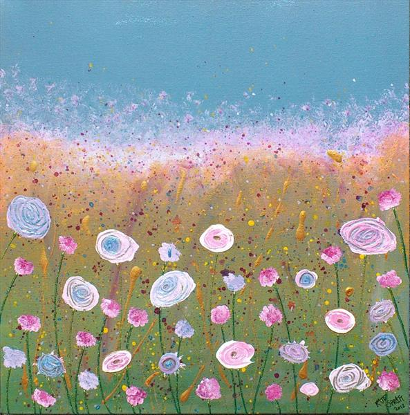 Wild Summer Meadow by Kate Spratt