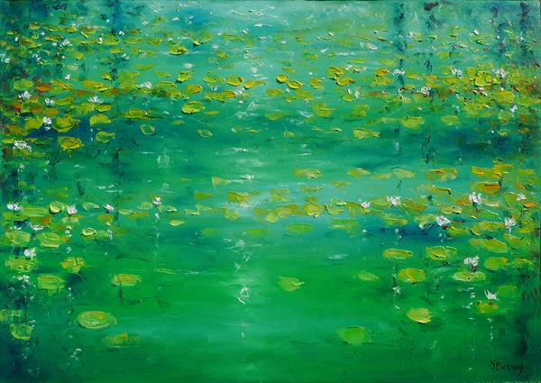 Waterlilies by Ioan Popei