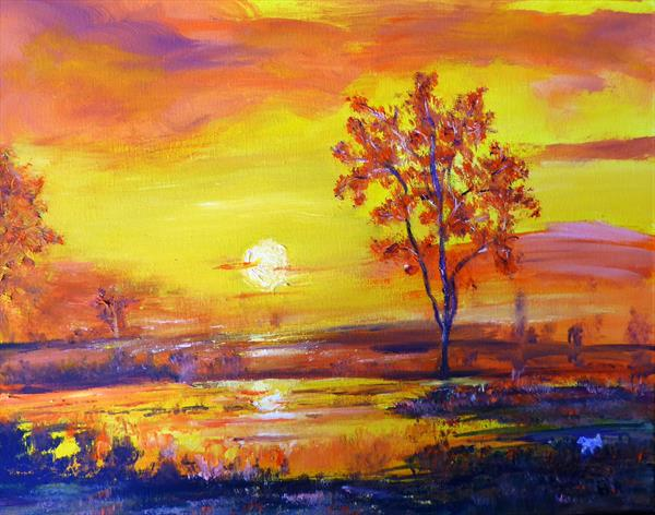 Before sunset by Mary Ann Day