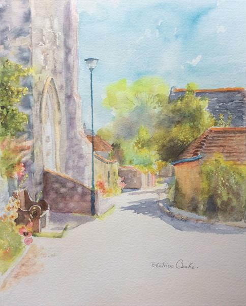 Hythe Kent - Church Road by Beatrice Cloake