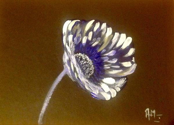 Simplicity of a flower by Anushree Mish