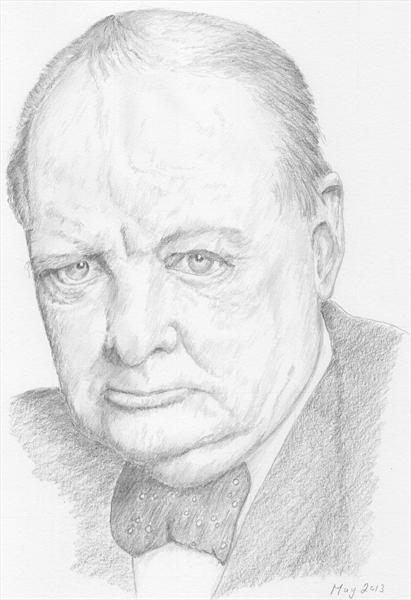 Winston Churchill by Keith Miller